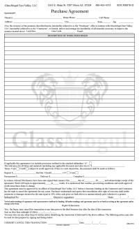 GlassMogul Contract