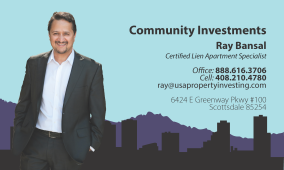 Community Investments Business Card Concept 2