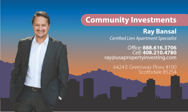Community Investments Business Card Concept 3
