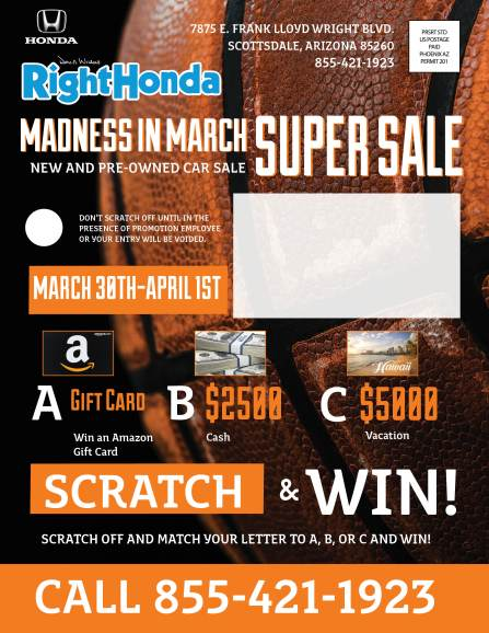 Unique Marketing Flyer Front